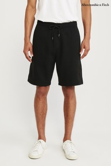 Abercrombie & Fitch Black Panel Shorts
