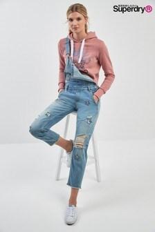 Salopette Superdry en jean motifs étoiles
