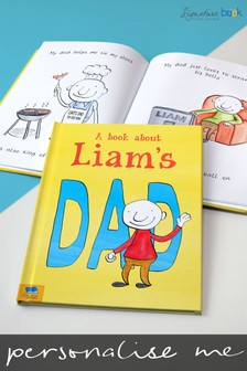 Personalised My Dad Book by Signature Book Publishing