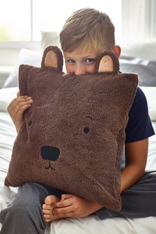 Fleece Bear Cushion