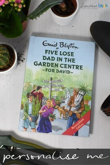 Personalised Five Lose Dad In The Garden Centre Book by Signature Book Publishing