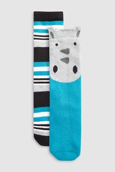 Rhino Welly Socks Two Pack (Younger)