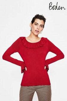 סוודר של Boden דגם Lavinia באדום