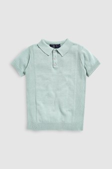 Knitted Polo (3-16yrs)
