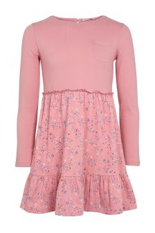 FatFace Dusky Pink Olivia Star Print Dress