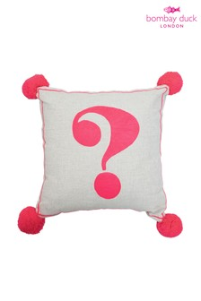 Bombay Duck Question Mark Cushion