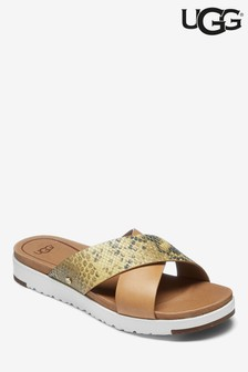5d455dc598b0 UGG® Kari Exotic Snake Cross Over Slider