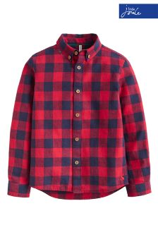 Joules Red Check Sark Shirt