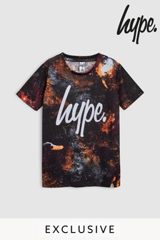 Hype. Orange/Grey Lava Tee