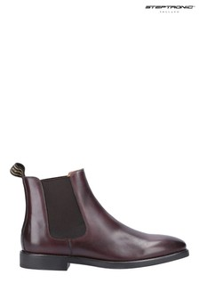 Steptronic Brown Mayfair Slip-On Chelsea Boots