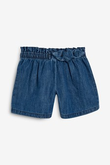 Bow Detail Shorts (3mths-7yrs)