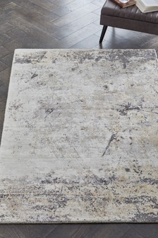 Distressed Abstract Rug