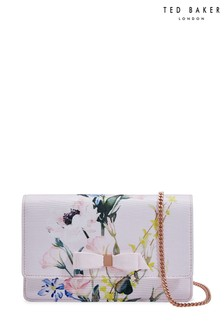 Ted Baker Pink Bow Evening Bag