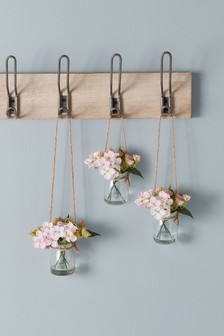 Set of 3 Mini Hanging Floral