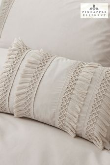 Izmir Tassel Cushion by Pineapple Elephant
