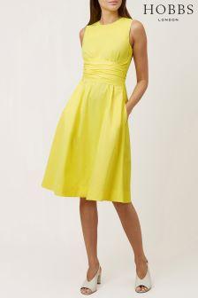 Hobbs Yellow Twitchill Dress