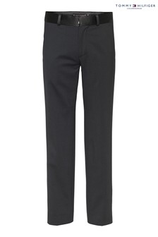 Tommy Hilfiger Black Tailored Trousers