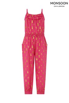 Monsoon Bright Pink Faye Jumpsuit