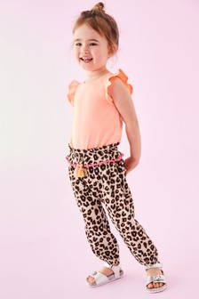 Tassel Detail Pull-On Trousers (3mths-7yrs)