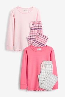 2 пижамы с брюками (3-16 лет)