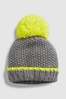 Buy Women s accessories Accessories Pompom Pompom Yellow Yellow Hats ... c7c932398e7