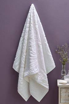 White Vintage Towels