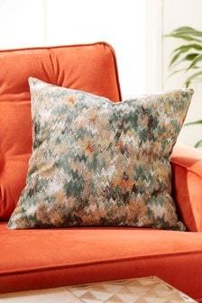 Marble Jacquard Cushion