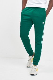 adidas Originals Green Superstar Track Joggers