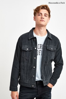 Abercrombie & Fitch Slate Cord Jacket