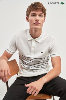 Lacoste® Colourblock Stone Polo
