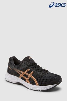 Asics Black/White Gel Contend 5 Trainer
