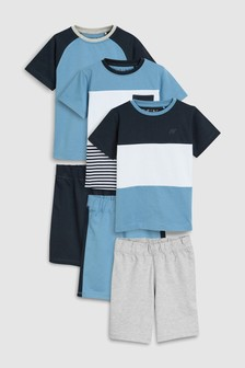 Набор пижамных комплектов (3 компл.) (3-16 лет)