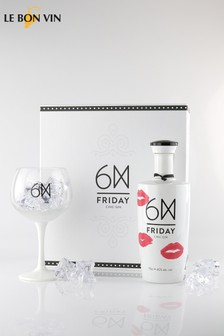 Friday Chic Kiss Gin Gift Set