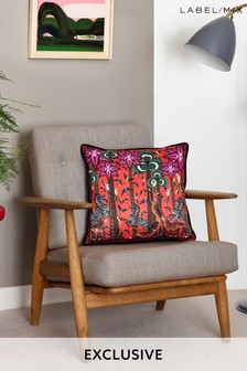 Mix/Holly Fulton Animal Print Cushion
