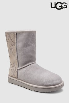 4735361ccd0 UGG® Classic Short Metallic Grey Snake Boot
