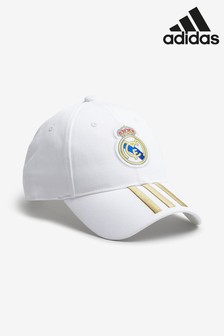adidas White Real Madrid FC Cap