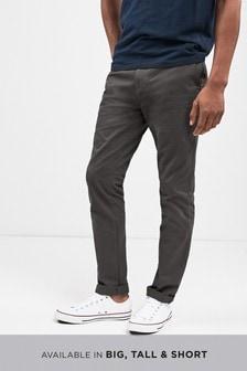 Pantaloni chino in puro cotone
