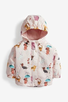 Shower Resistant Character Printed Jacket (3mths-7yrs)