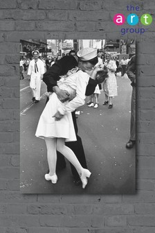 War Time Kiss by Time Life Canvas