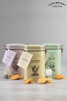 Tea And Shortbread Trio by Cartwright & Butler