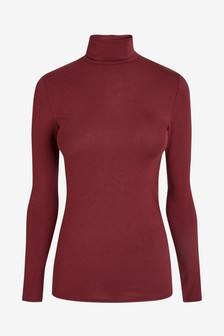 Lightweight Microwarmth Turtle Neck Top
