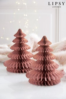 Lipsy Set of 2 Paper Trees