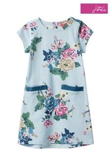 Joules Blue Patch Jersey Dress
