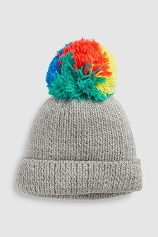Multi Bobble Beanie (Younger)