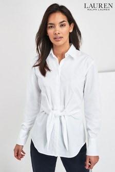 Lauren Ralph Lauren Sarotte Hemd, Weiß