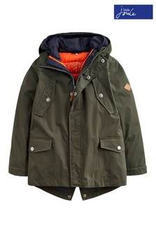 Joules Everglade Waterproof 3 in 1 Parka Coat