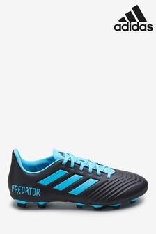 adidas Navy Hardired Predator Firm Ground Football Boots