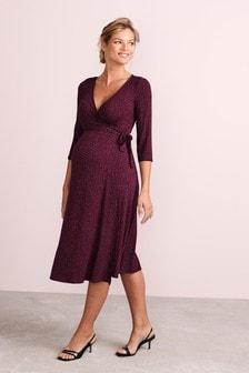 Платье для беременных с запахом