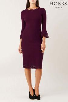 Hobbs Red Myra Dress