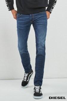 Diesel® Mid Wash Sleenker Skinny Fit Jean